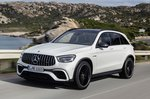 Mercedes-AMG GLC 63 front tracking shot