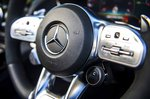 Mercedes-AMG GT Roadster 2019 steering wheel detail