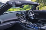 Mercedes-AMG GT Roadster 2019 RHD dashboard