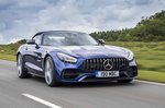 Mercedes-AMG GT Roadster 2019 roof up tracking
