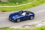 Mercedes-AMG GT Roadster 2019 roof-down high shot