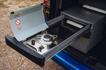 Volkswagen Caddy California 2021 pull-out camping stove