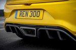 Renault Megane RS 2019 diffuser detail