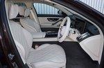 Mercedes S-Class 2021 interior front seats