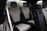 BMW X7 2019 UK second row