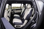BMW X7 2019 RHD rear seats