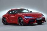 Toyota Supra 2019 RHD front right studio