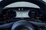 Porsche Taycan 2020 RHD instruments