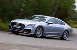 Audi A7 left side panning