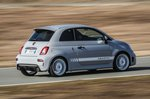 Abarth 595 2019 LHD fast rear tracking shot