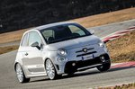 Abarth 595 2019 LHD front cornering shot