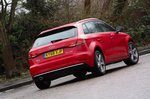 Audi A3 Sportback 2019 rear tracking shot