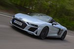 Audi R8 Spyder 2019 front tracking