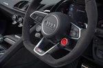 Audi R8 Spyder RHD dash detail