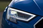 Audi RS3 RHD headlamp detail