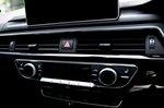 Audi RS5 Sportback 2019 centre console detail