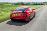 Audi TT RS 2019 RHD rear tracking shot