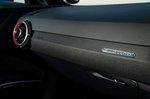 Audi TT RS 2019 gearstick interior detail
