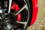 Audi TT RS 2019 wheel detail shot
