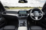 BMW 3 Series Touring 2019 RHD dashboard