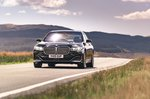 BMW 7 Series 2019 RHD front left tracking shot