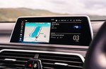 BMW 7 Series 2019 RHD infotainment
