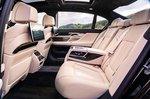 BMW 7 Series 2019 RHD rear seats