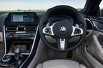 BMW 8 Series Convertible 2019 RHD dashboard