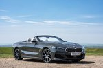 BMW 8 Series Convertible 2019 RHD roof open