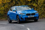 BMW X2 2019 front right cornering