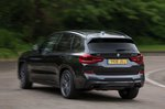 BMW X3 2021 M40i rear tracking