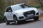 Audi Q5 front right cornering shot