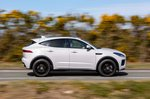 Jaguar E-Pace 2020 right panning shot