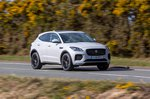 Jaguar E-Pace 2019 right front wide tracking