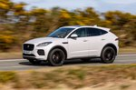 Jaguar E-Pace 2019 left panning shot