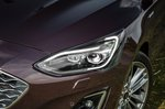Ford Focus Estate 2019 headlight detail