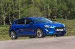 Ford Focus 2020 RHD wide front tracking