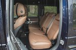Mercedes G-Class 2021 RHD rear seats