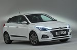 Hyundai i20 2018 RHD front studio
