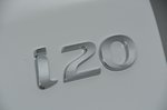 Hyundai i20 2018 RHD badge detail