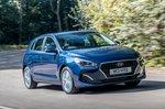 Hyundai i30 2019 RHD front cornering shot