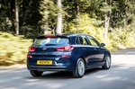 Hyundai i30 2019 RHD rear cornering shot