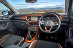 Volkswagen T-Cross 2019 RHD dashboard