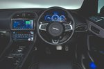 Jaguar F-Pace 2018 RHD dashboard