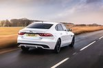 Jaguar XF 2021 rear tracking
