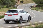 Lexus RX 2019 rear cornering