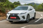 Lexus RX 2019 front tracking