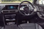 Mercedes EQC 2019 LHD dashboard
