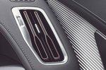 Mercedes EQC 2019 UK RHD dash vent detail