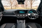 Mercedes GLE 2019 RHD dashboard